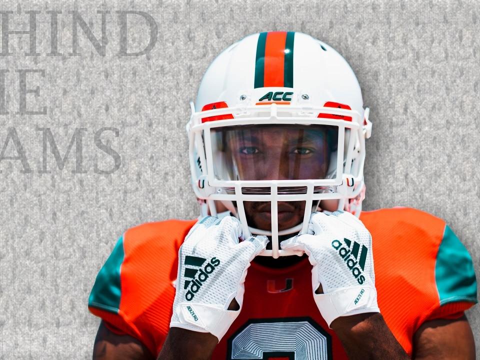 Miami football to debut environmentally-conscious uniforms made from ... 0893df9df