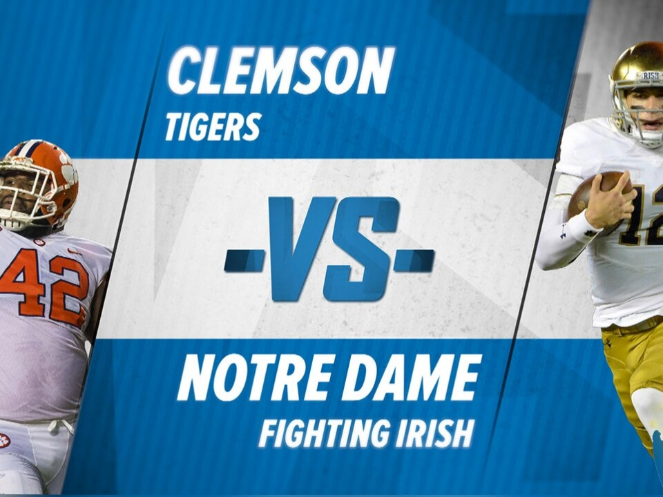 be4de17ee Clemson-Notre Dame  All-time history