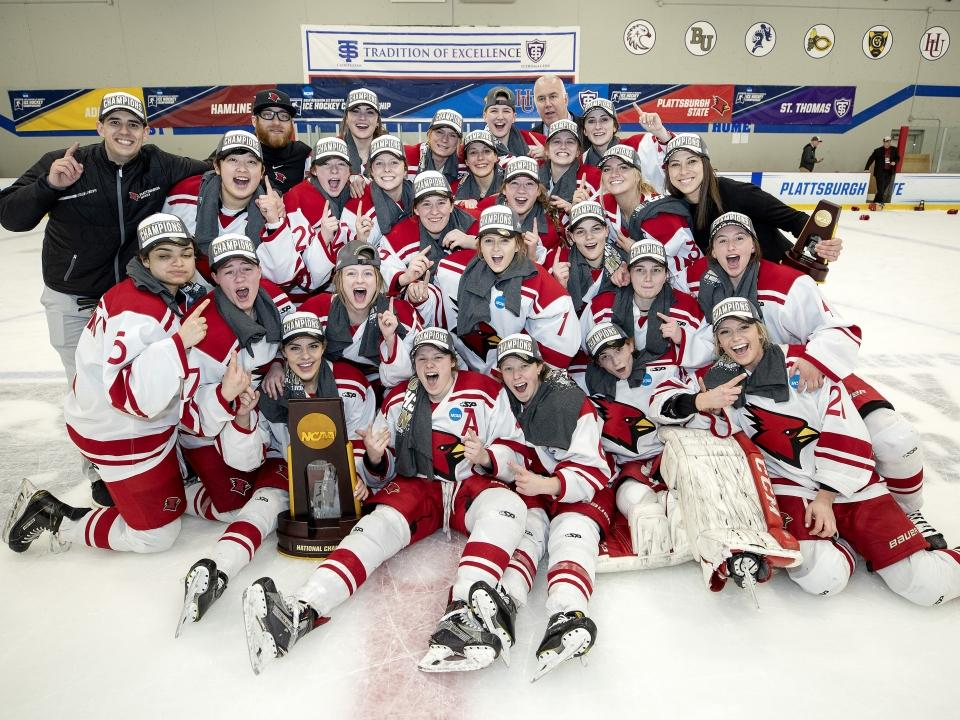 Image result for ncaa division iii hockey champions
