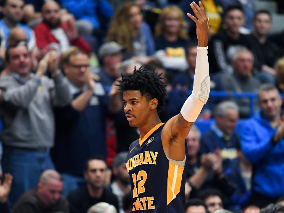 Let's imagine Ja Morant and Murray State's path to the NCAA title game