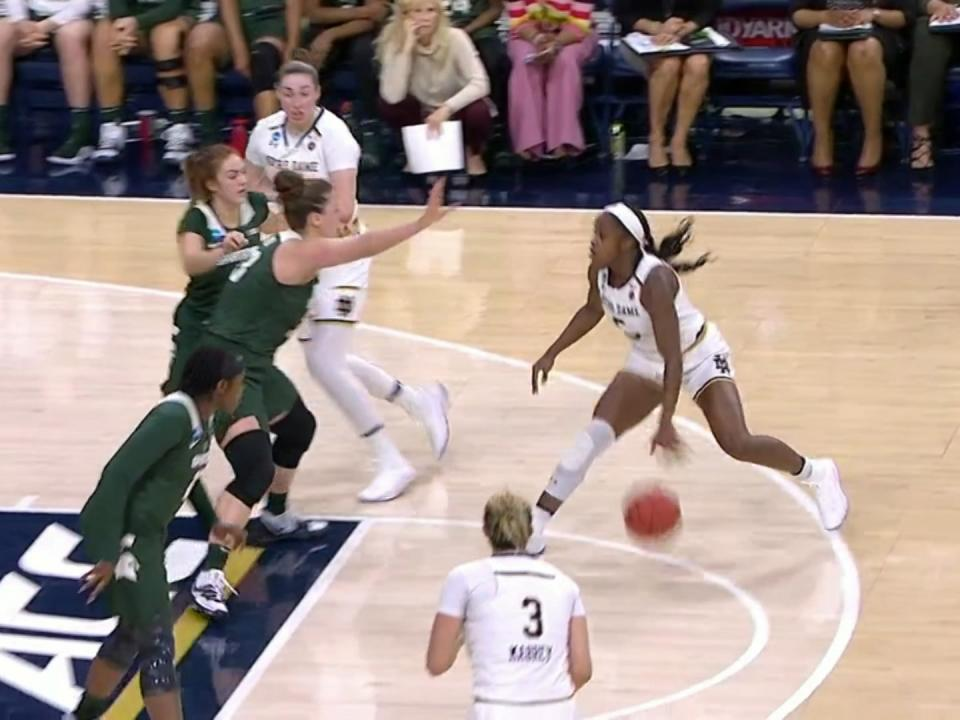 Notre Dame cruises to the Sweet 16   NCAA.com