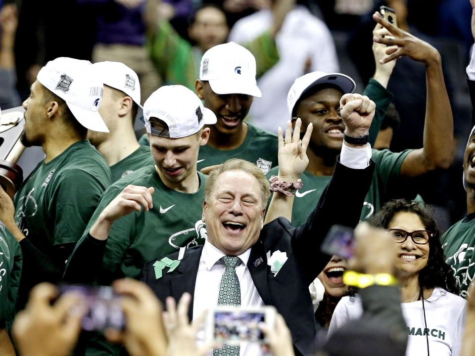 Tom Izzo sits with Andy Katz to talk about Michigan State's March Madness  run