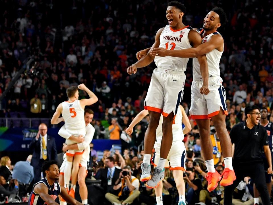Final Four Virginia Defeats Auburn 63 62 To Move Into National Championship