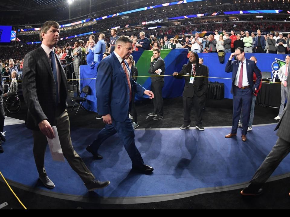 2356f051 In the Auburn locker room after that loss to Virginia: Heartbreak, disbelief