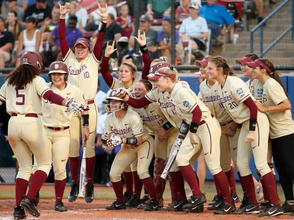 Women's College World Series: Checkout this softball hype video
