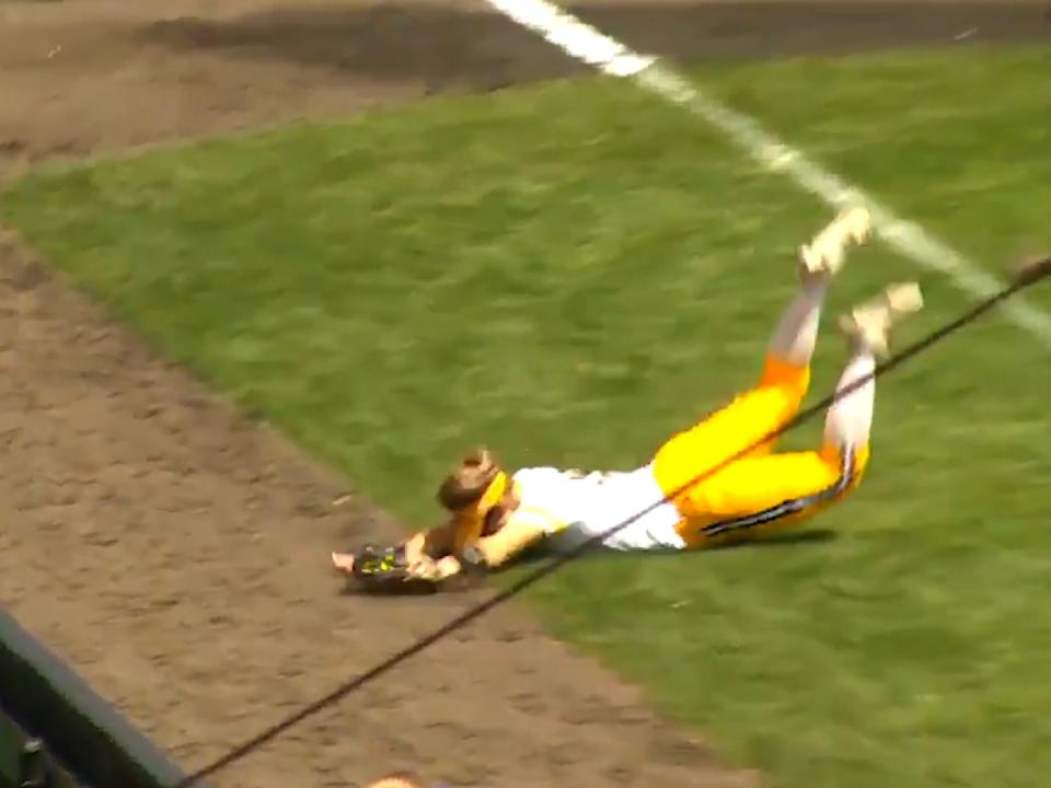 Check out the amazing catches in this week's softball top plays