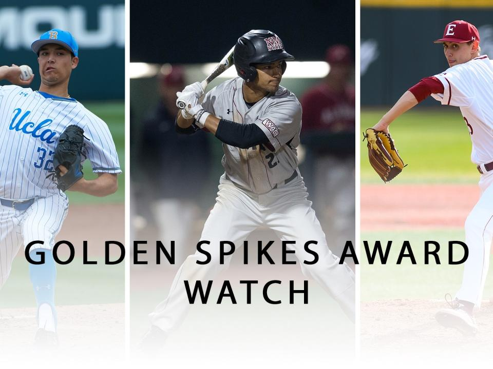 Golden Spikes Award Watch: UCLA's Ryan Garcia, New Mexico State's Nick  Gonzales and Elon's George Kirby