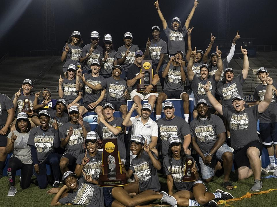 Ashland wins the 2019 DII Men's Outdoor Track & Field