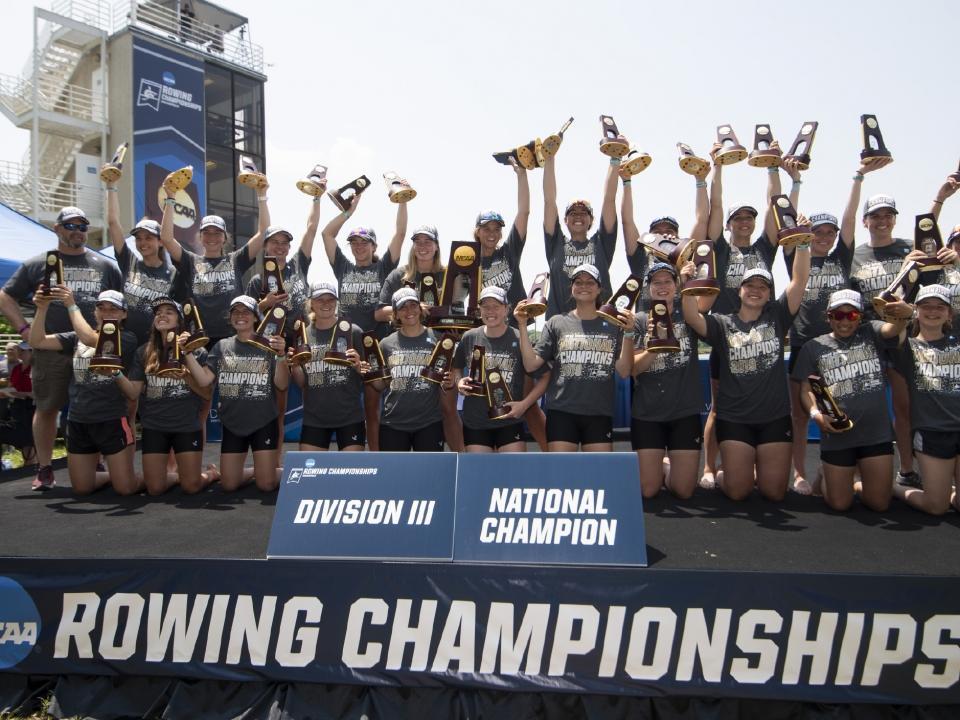 NCAA rowing championships: Washington, Central Oklahoma, Bates crowned this weekend