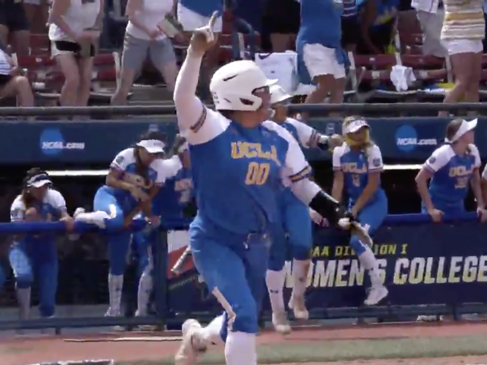 Watch Rachel Garcia's 10th inning walk-off homer to send UCLA to Women's College World Series finals | NCAA.com
