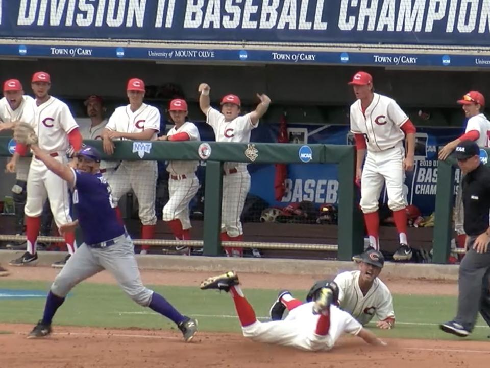 Here's what its like to be selected in the MLB Draft while playing for the DII baseball championship