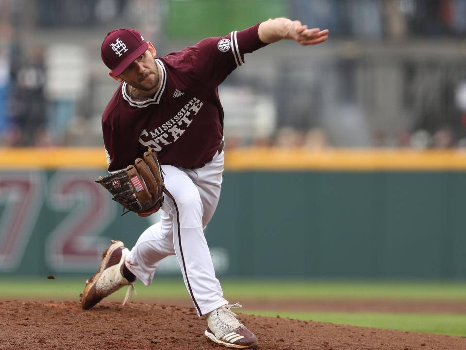 What makes Mississippi State's Ethan Small a top pitcher in Omaha? | NCAA.com