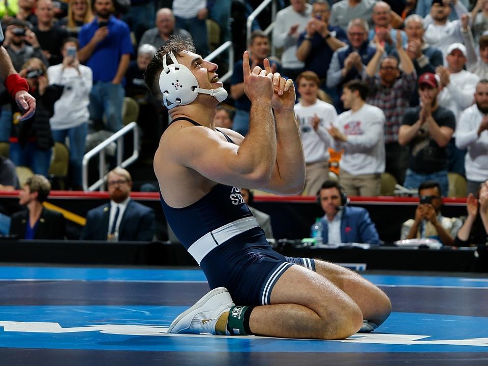 big ten wrestling finals 2020