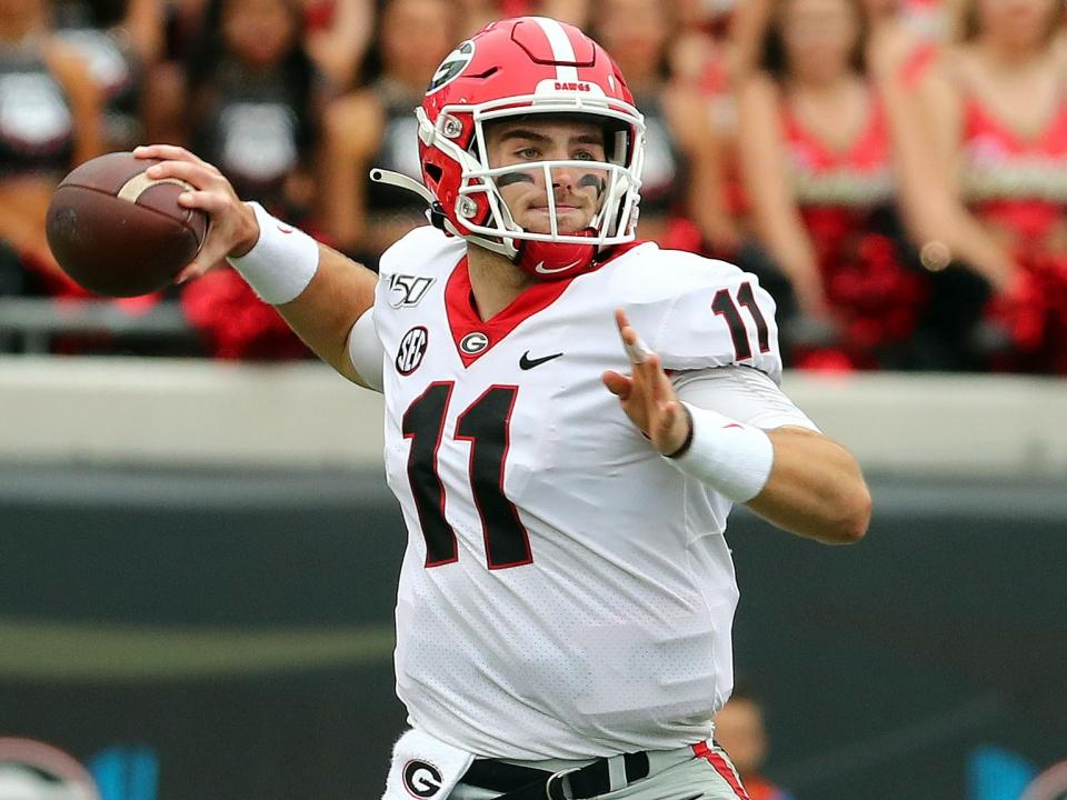 Fromm Shines In Bulldog S Win Over Florida And Notre Dame Pushes Past Virginia Tech In This Week S 5th Down