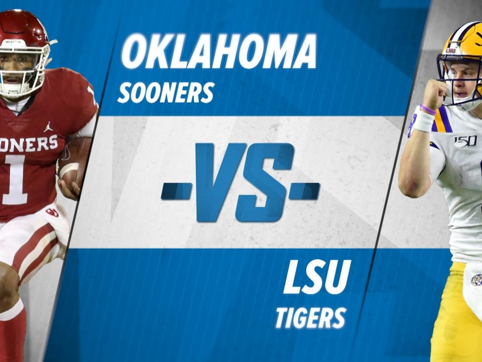 2020 19 Ncaa Football Bowl Games.College Football Playoff Semifinal No 4 Oklahoma Vs No 1 Lsu