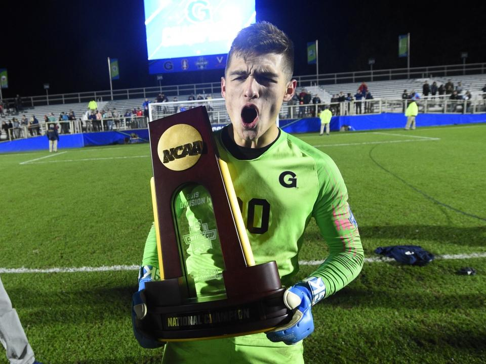 Georgetown Defeats Virginia To Win Men S Soccer National Championship In Pk S