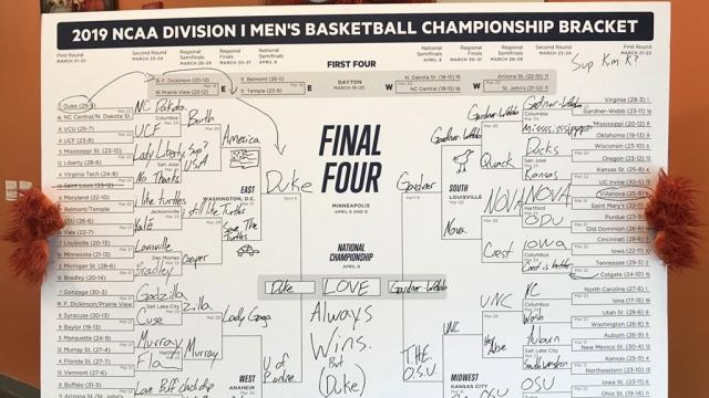 photo relating to Yahoo Printable Bracket known as Historical past-breaking fantastic bracket busts at activity 50 with