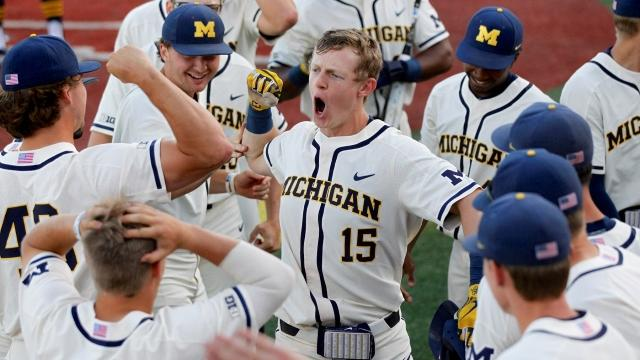 12cf0561006 Michigan baseball: Jimmy Kerr follows in his father and grandfather's  footsteps to find CWS success