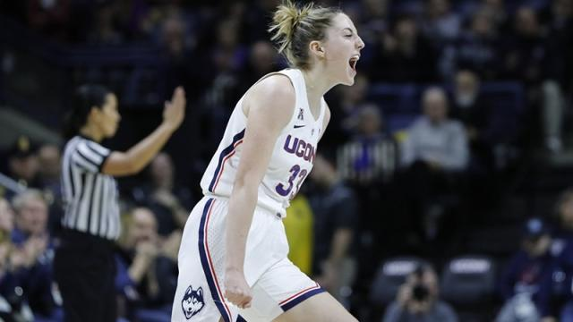Katie Lou Samuelson and the UConn women's basketball Huskies