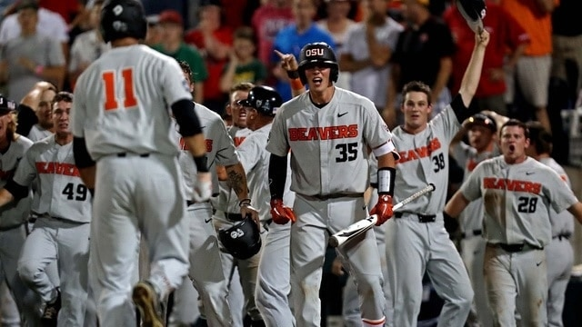 Oregon State keeps CWS title aspirations alive in Game 2 miracle win