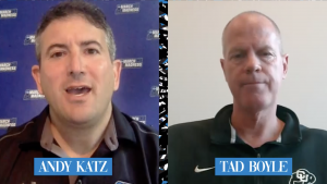 Breaking down the potential 3-point line change with NCAA men's basketball committee chair Tad Boyle