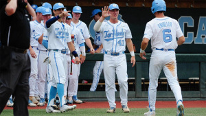 North Carolina evens the series, forcing Game 3 with Auburn