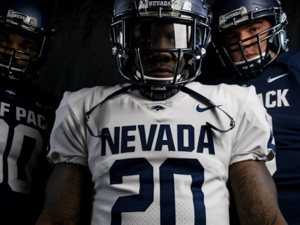 Nevada s previous uniforms were pretty forgettable. But with a new bold  font f2c025bc3