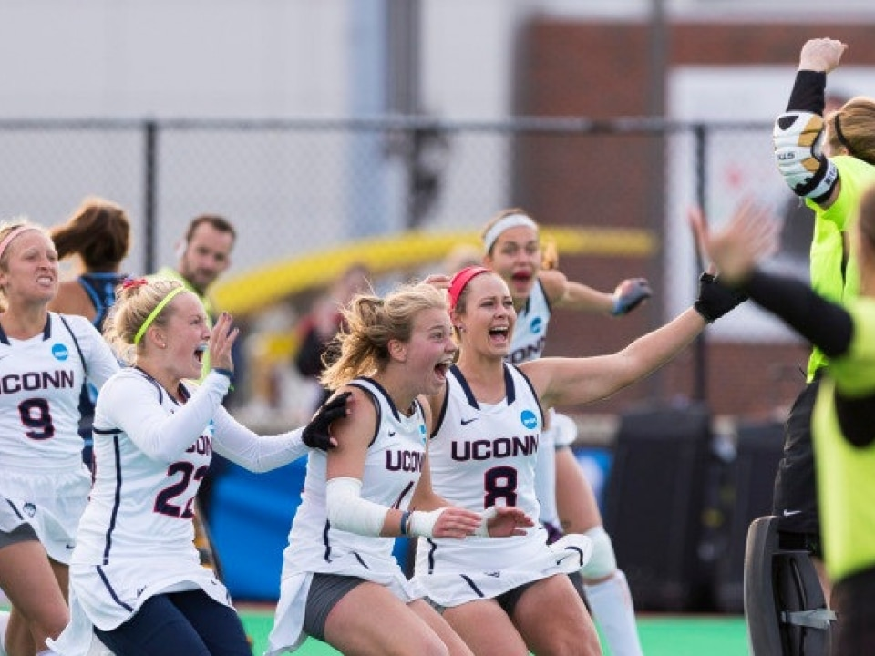 Division I Field Hockey Championship Uconn Finishes