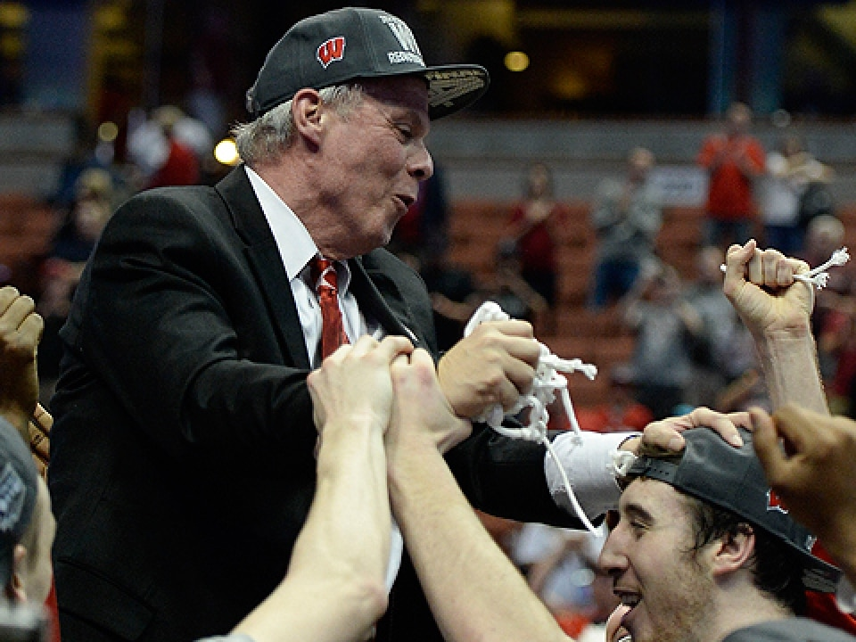 Bo Ryan is in his first Final Four at age 66.