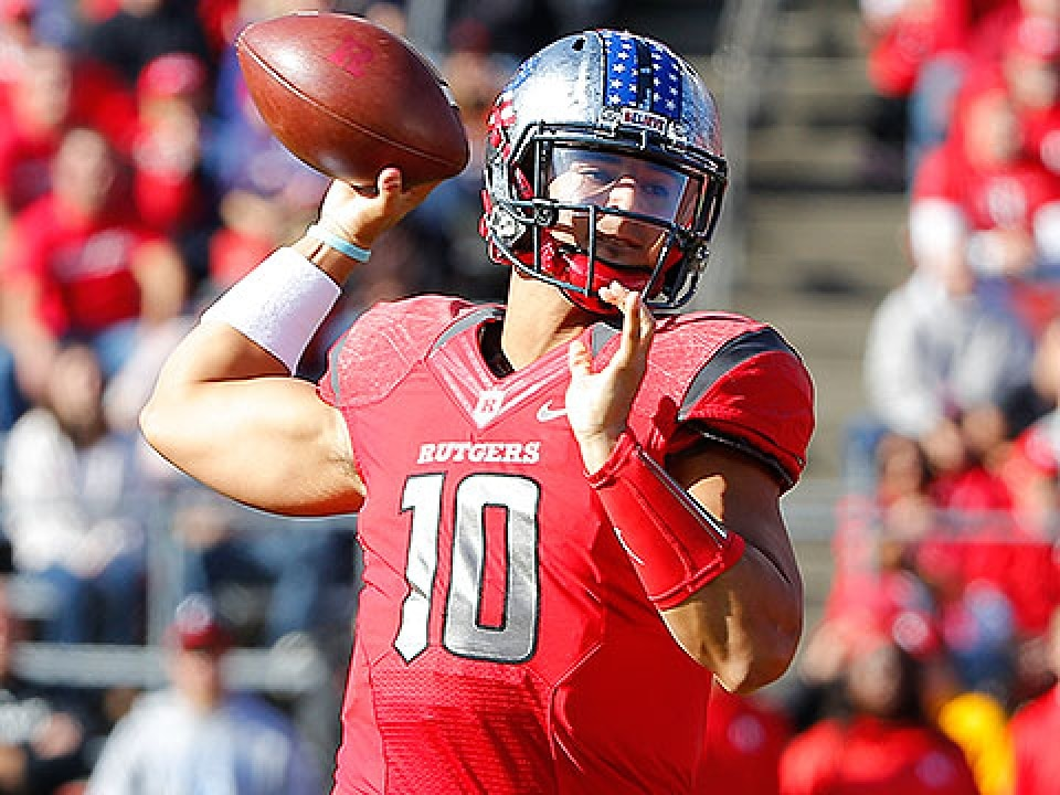 Senior Gary Nova has thrown for 6,407 yards and 51 touchdowns in his Rutgers career.