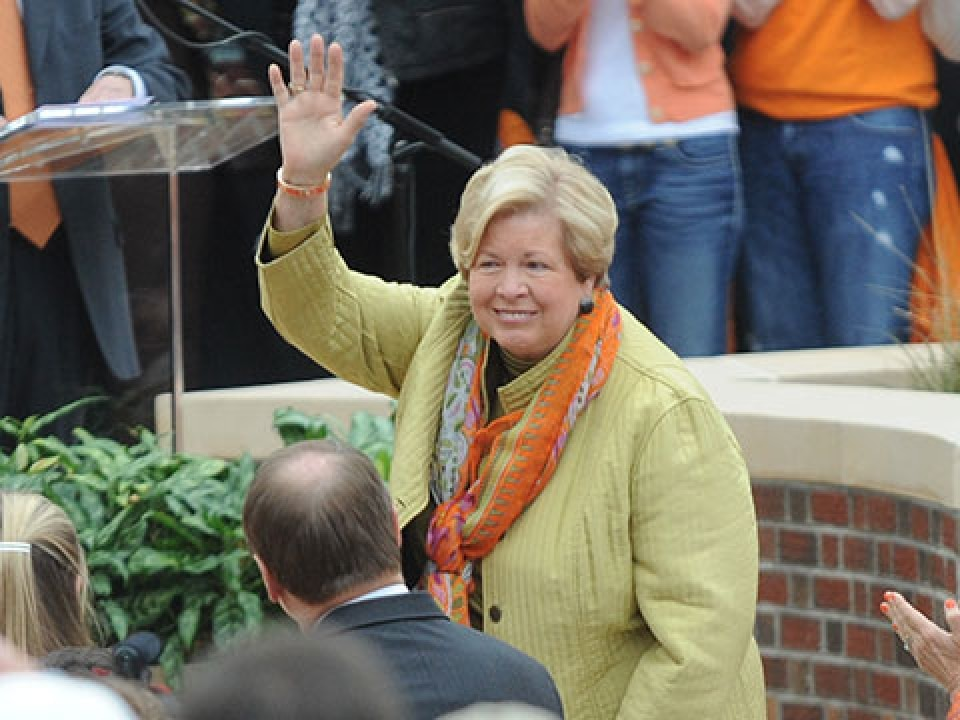 Joan Cronan helped put Lady Vol athletics on the map.