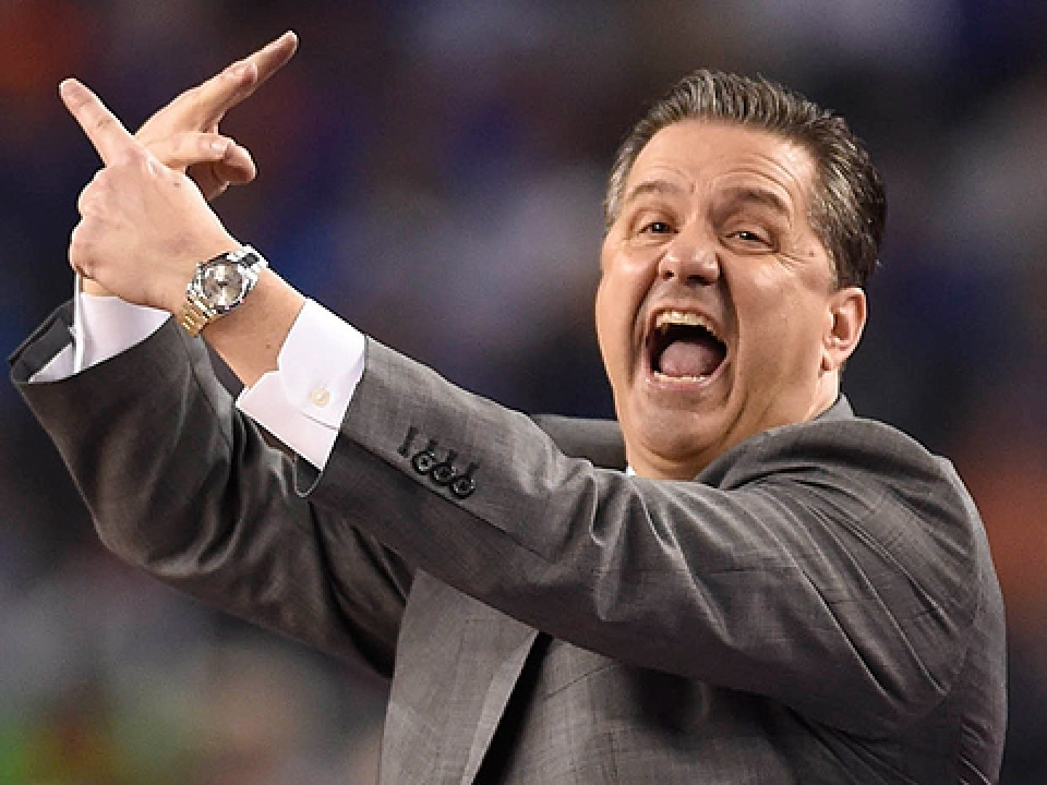 John Calipari is looking for his third career win against Connecticut.