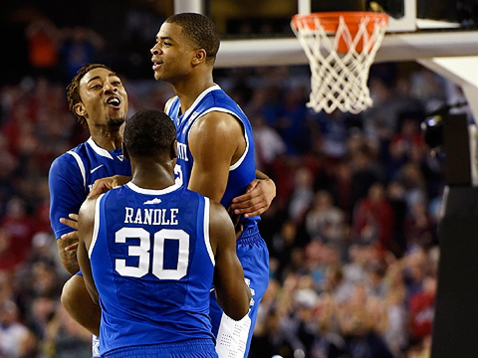 Kentucky's freshmen are one win away from a national title.
