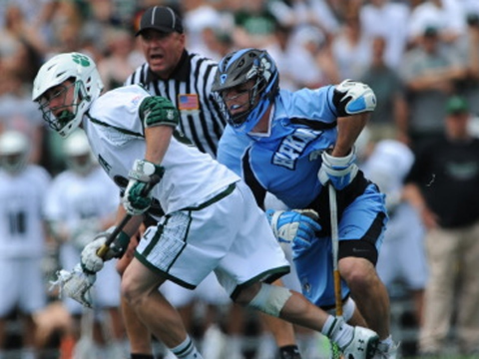 Graham Savio matched his career high with 17 face-off wins, and he set a new best with 12 ground balls for Loyola (Md.)