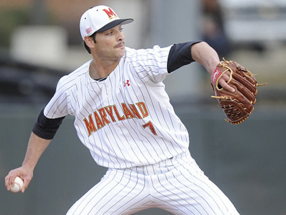Maryland ace Jake Stinnett was taken 45th by the Chicago Cubs in the Major League Baseball draft.