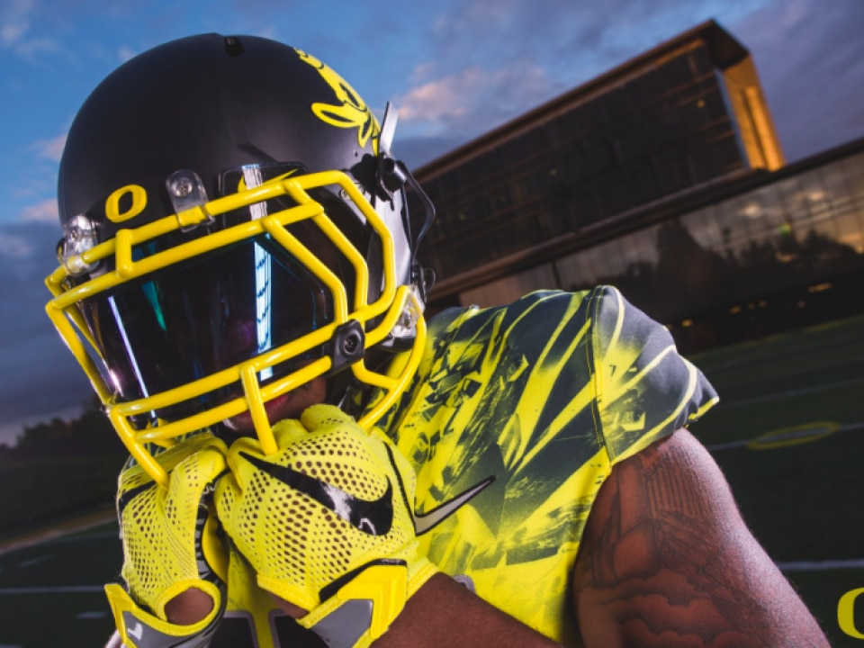 Oregon Debuted Their New Uniform Courtesy Of Nike Ahead Game On Sept 10 Against Virginia