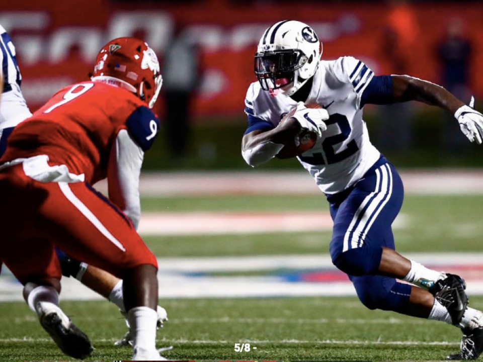 BYU s Squally Canada rushed for 710 yards and six touchdowns last season. 025223da5