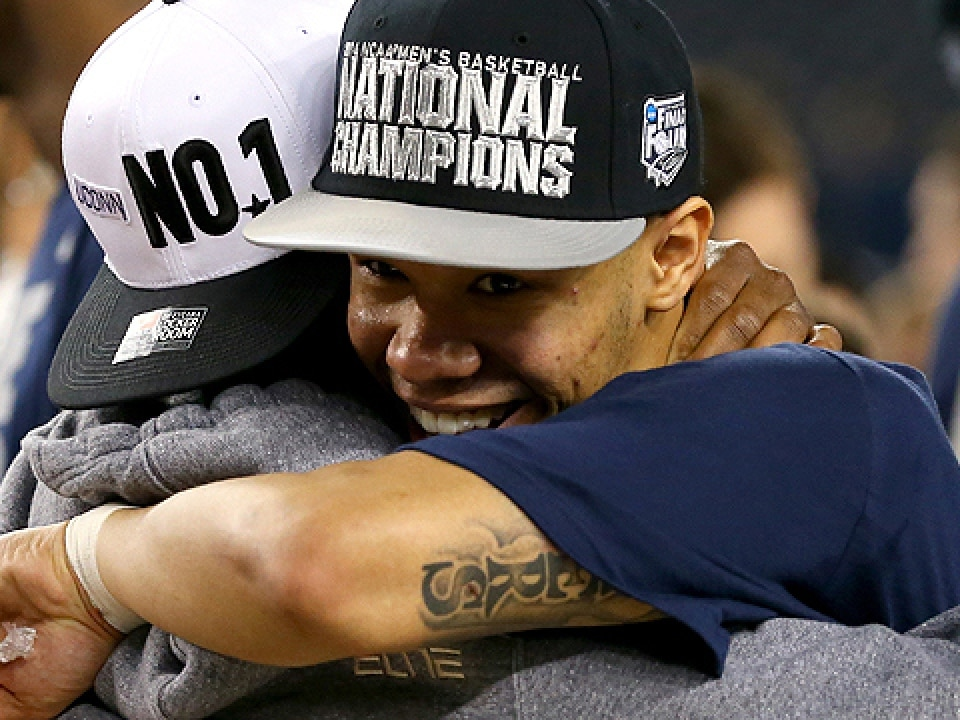 Shabazz Napier was named most outstanding player of the Final Four.