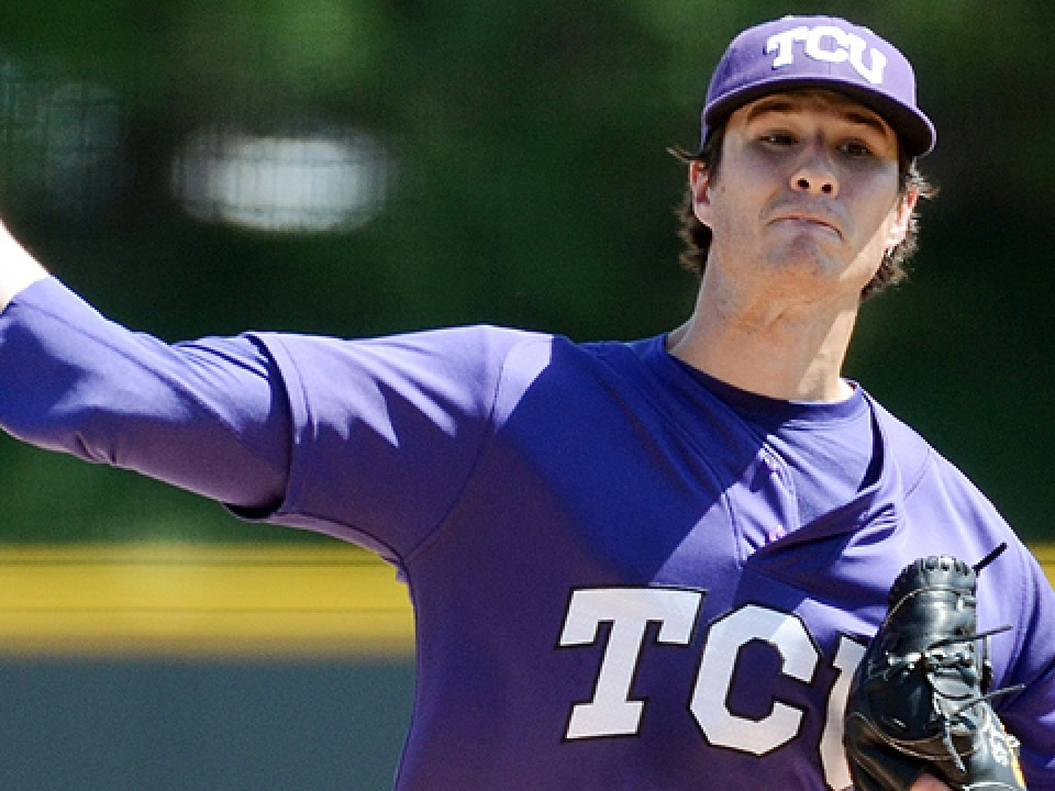Big 12 pitcher of the year Preston Morrison is 9-3 with a 1.24 ERA for TCU.