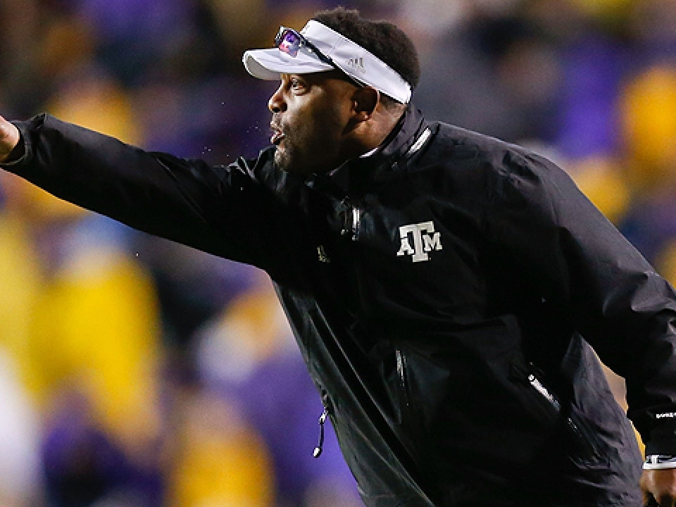 Texas A&M coach Kevin Sumlin will rely on a new quarterback in 2014.