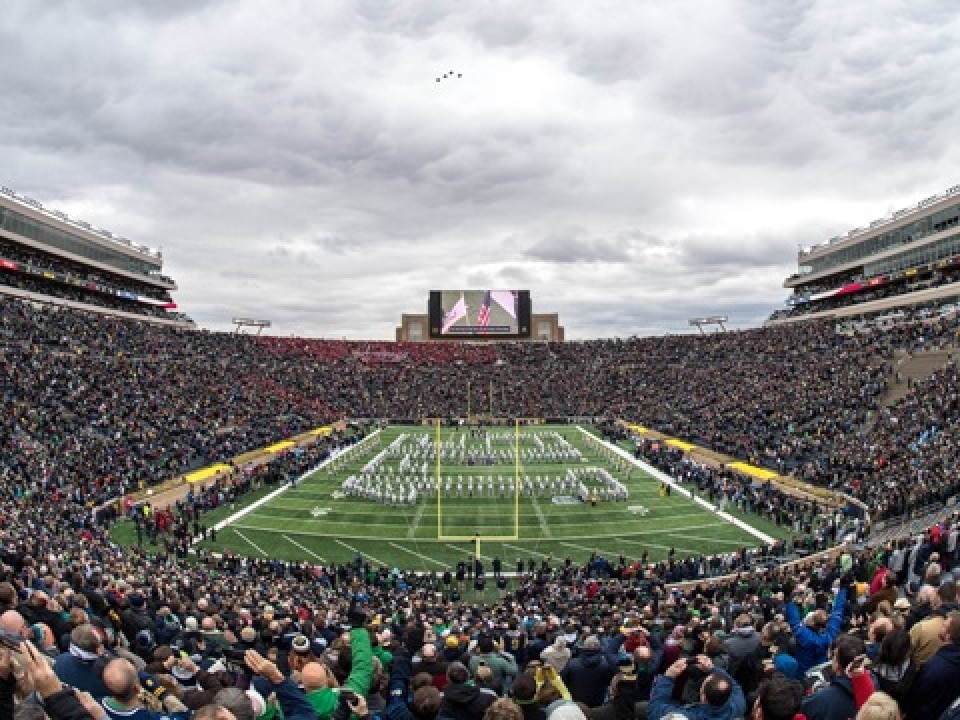 328d3f169 2019 NHL Winter Classic set for Notre Dame Stadium. Share