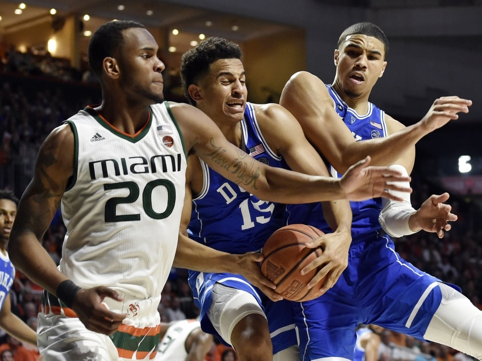 The Hurricanes Held Duke To 50 Points Which Is 317 Under Its Average