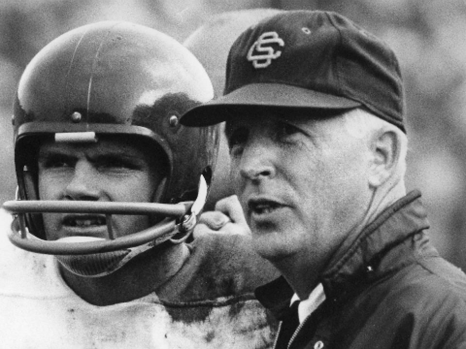 USC head coach John McKay