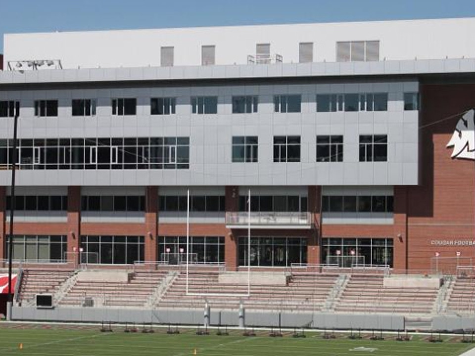 Cougar Football Complex will house all football operations at Washington State.