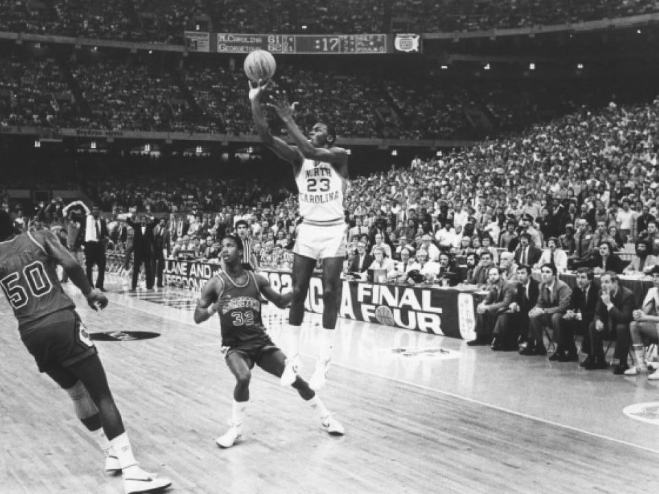 Michael Jordan spent three seasons at Chapel Hill from 1981-84. c0db57a970