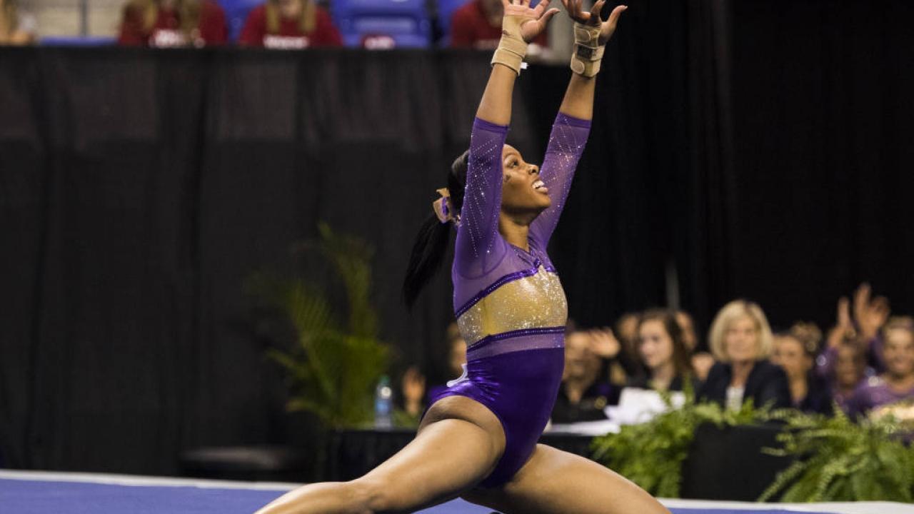 LSU Gymnast Kennedi Edney Chasing Improvement, Success As