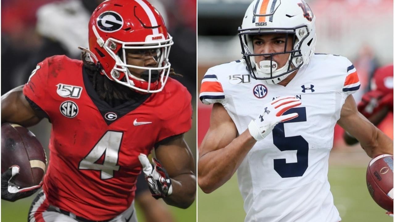 Georgia vs. Auburn football: All-time series history ...