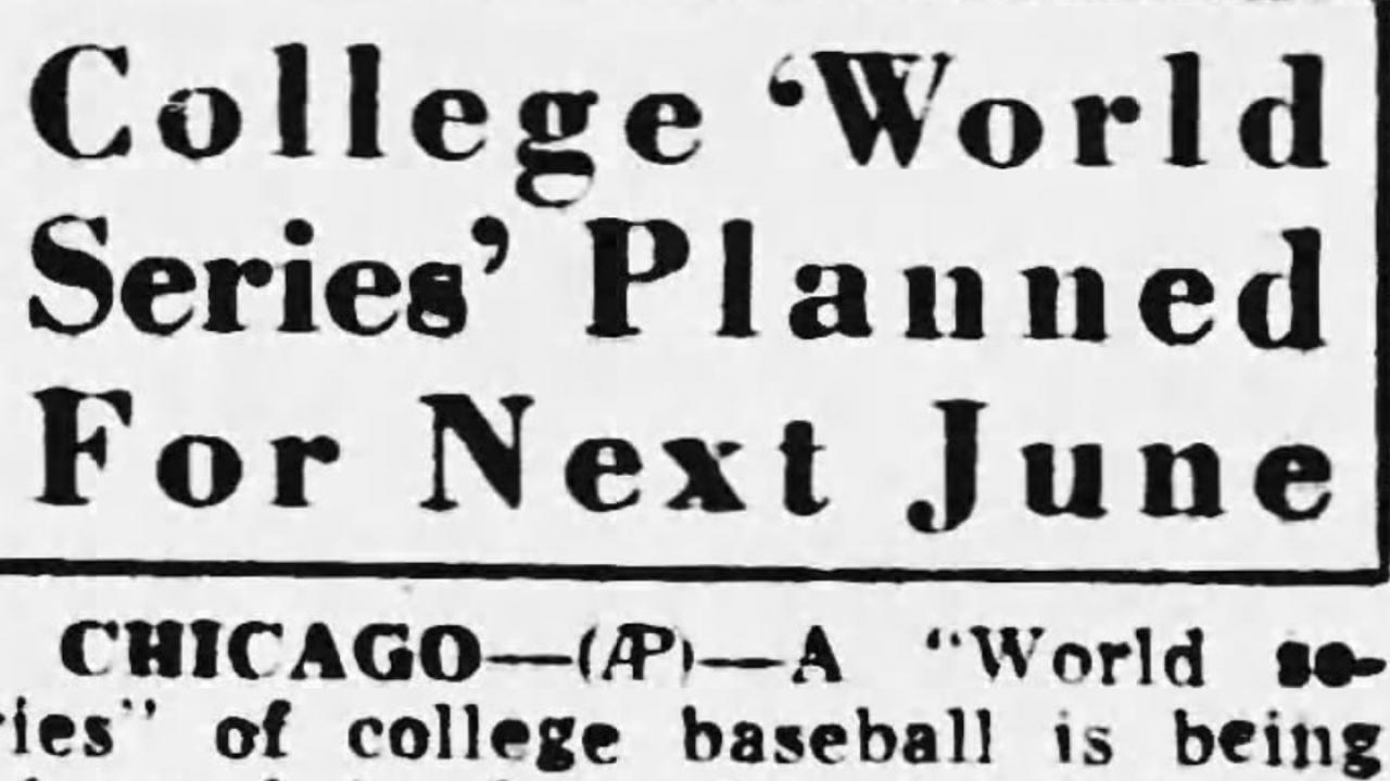 5 ways the 1947 College World Series was different than today