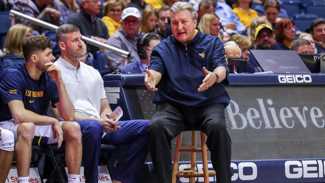West Virginia coach Bob Huggins names his top players in 10 categories