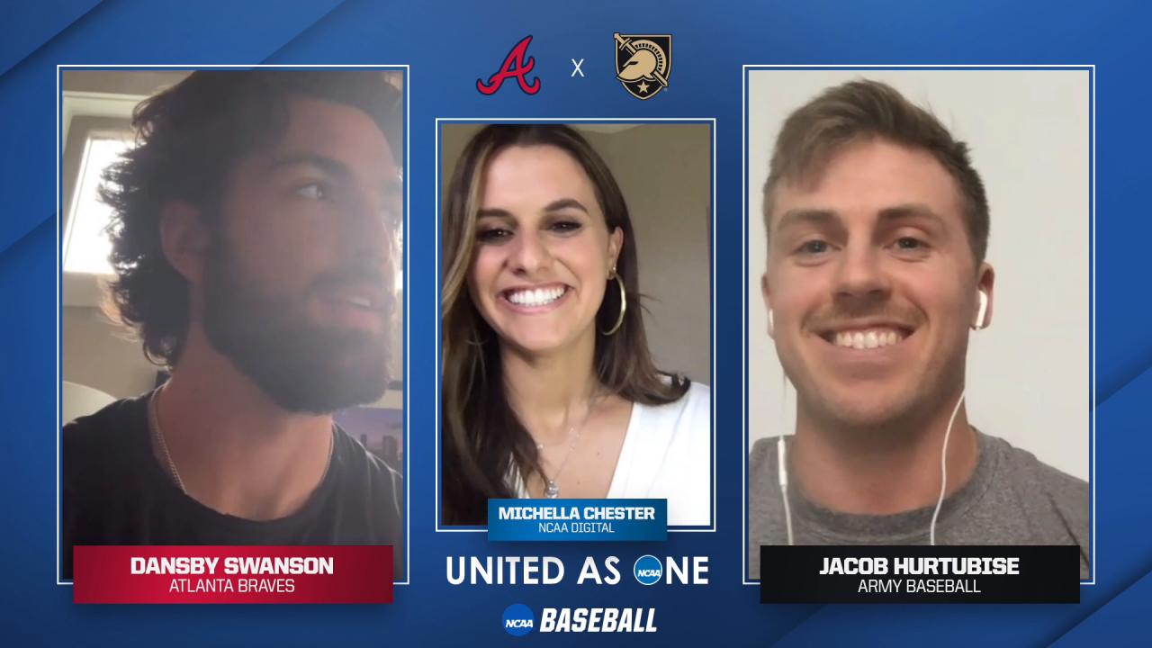 #UnitedAsOne: Atlanta Braves shortstop Dansby Swanson surprises Army's Jacob Hurtubise